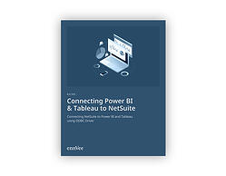 image of guide to connecting netsuite with power bi and tableau