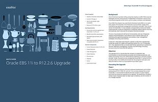 Oracle EBS R12.2 upgrade white paper